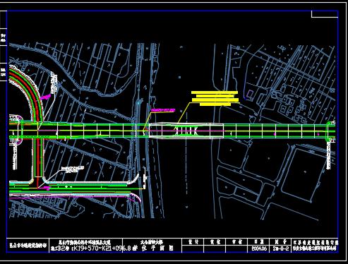 30+110+30m钢管混凝土中承式提篮拱特大桥施工图纸