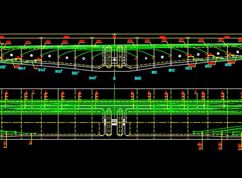46+3x80+46m连续刚构桥梁施工图纸