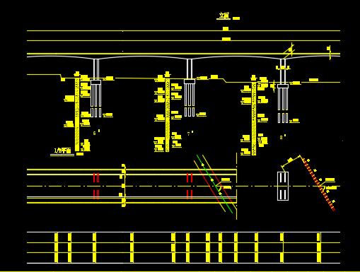 预应力混凝土变截面连续刚构桥施工图纸