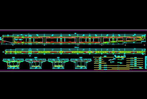 跨线桥施工图纸