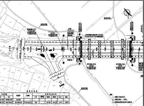 道路工程桥梁施工图纸