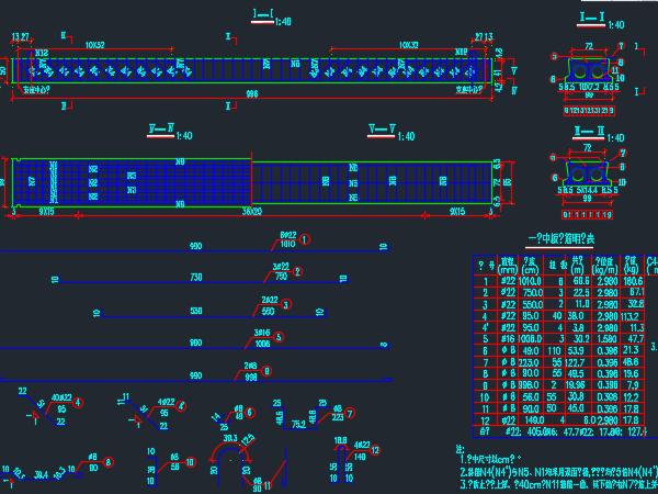 空心板梁桥结构设计图