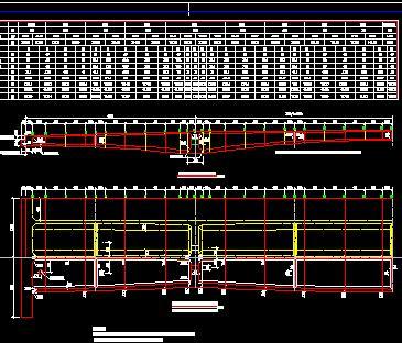 三跨预应力混凝土连续刚构桥全套施工图纸