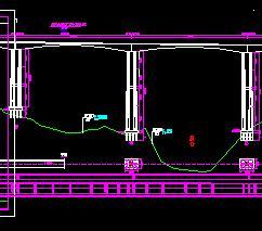 五跨一联预应力砼变截面箱形连续刚构桥施工图纸