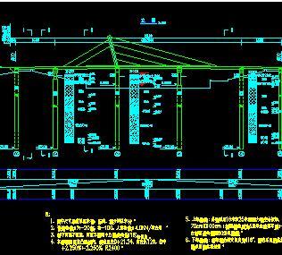 先张法预应力砼简支空心板桥桥梁全套施工图纸图片