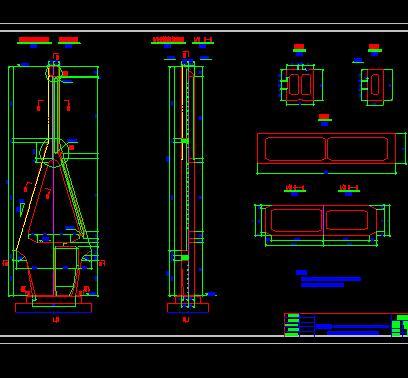 420米斜拉桥桥梁施工图纸