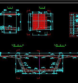 60+110+60米预应力混凝土连续刚构桥施工图