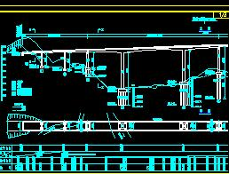 三跨预应力混凝土连续刚构桥桥梁施工图纸