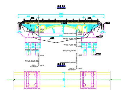13m景观拱桥施工图纸
