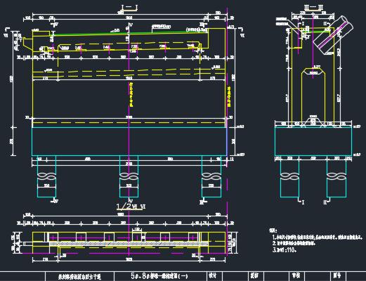 长488米承式钢管混凝土系杆拱桥施工图纸