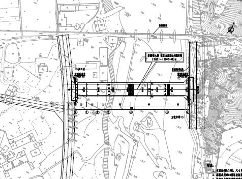 15*3+30+49+30预应力混凝土V型刚构桥梁施工图纸