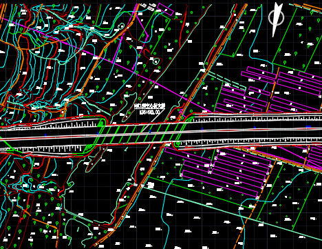 道路工程及沿线设施大桥工程施工图纸