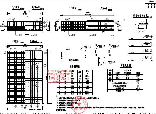路桥桥梁工程施工图纸设计(PDF格式)