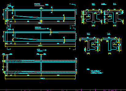 高速公路桥施工图设计(16张CAD图、说明书)