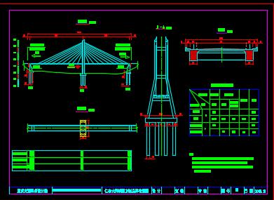 桥型设计图纸