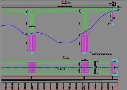 主跨7x165m连续刚构特大桥设计图纸