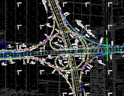 通道及接线工程桥梁施工图纸(含计算文件)