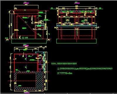 桥台设计图