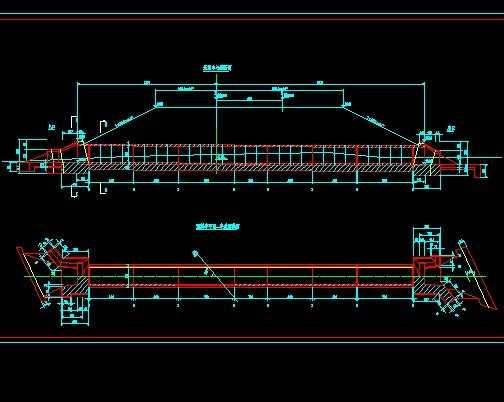 某铁路站前工程涵洞构造图