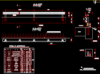 图纸B级波形梁护栏设计图免费下载-其它图纸v3.8公路三星手机v图纸图片