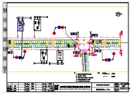 大道交通平面图纸