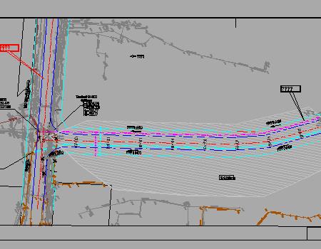 城市图纸图纸v城市工程施工图免费下载-其它道路支路灯拼鬼豆图片