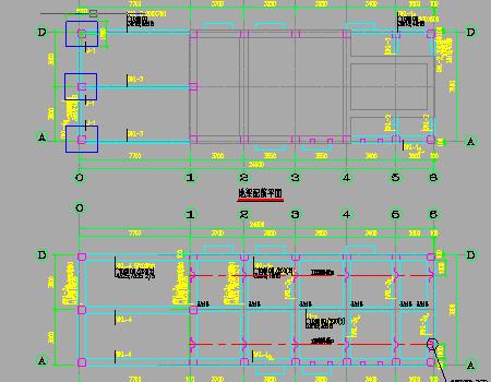 城市截污管网建设工程框架结构设计套图
