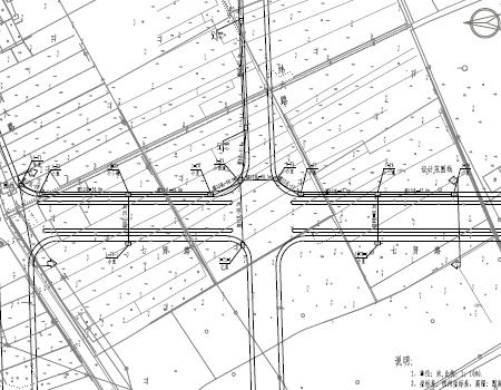 道路图纸通信工程施工图免费下载-其它城市v道路图纸ws上图片