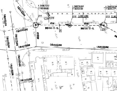 市政道路排水改造工程施工图