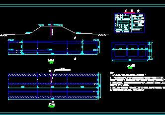 连续框架护涵综合管廊穿越铁路施工图纸