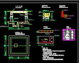 路灯、控制箱、手孔井及电缆沟大样图