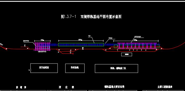 新建铁路土建工程施工图纸