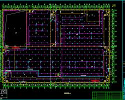 三层厂房火灾报警系统设计图