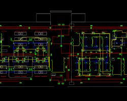 三层感染性疾病防治中心病房楼电气施工图