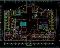 九层综合办公楼电气施工图纸