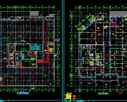 二十一层商业楼电气改造施工图纸