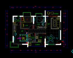 120平米住宅装修施工图