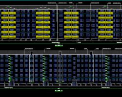 六层商品住宅楼工程毕业设计(含建筑结构图)