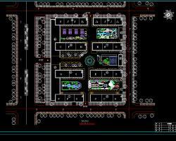 住宅区景观规划设计图纸