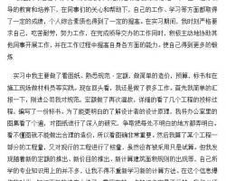 gong�tao旒�bi业顶岗shixi报告