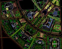 某广场景观规划设计图纸