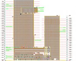 三十三�涌蚣芙Y���k公�C合�w建筑施工�D�(含�算��、�能�蟾妫�PDF版本