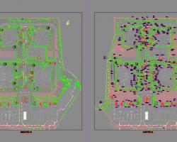 小区景观绿化施工图纸