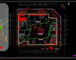 十四层框剪结构商业楼施工图(含建筑、结构图)