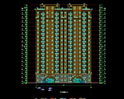 多层住宅楼亚博88app全套施工图纸(含建筑、水电暖)