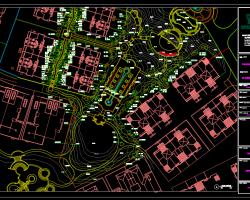 住宅区景观植物配置施工图