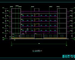 六层综合教学楼工程毕业设计(含建筑结构图、计算书)