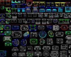 CAD平面图库