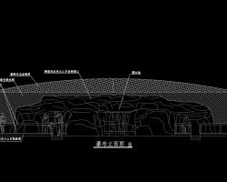 瀑布水景设计图