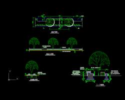 花池、花钵及花坛景观设计图
